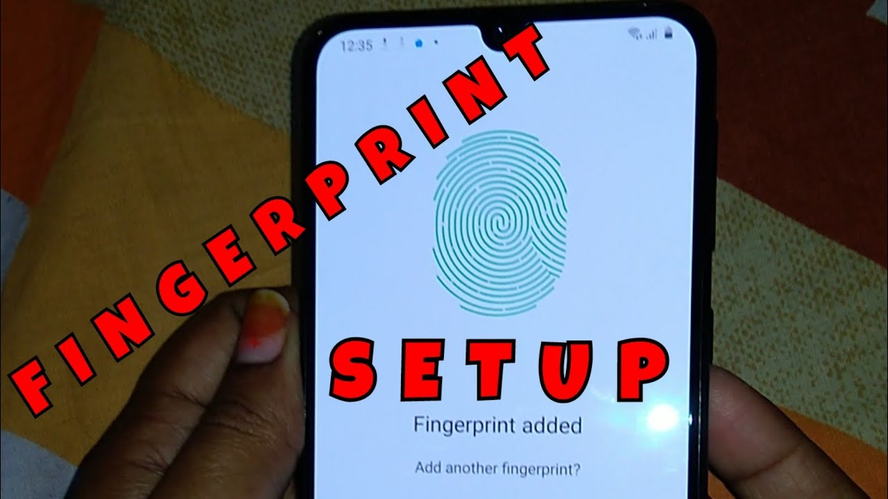 How to Setup Fingerprint for Samsung Galaxy M31 | How to Add Fingerprint for Samsung M31