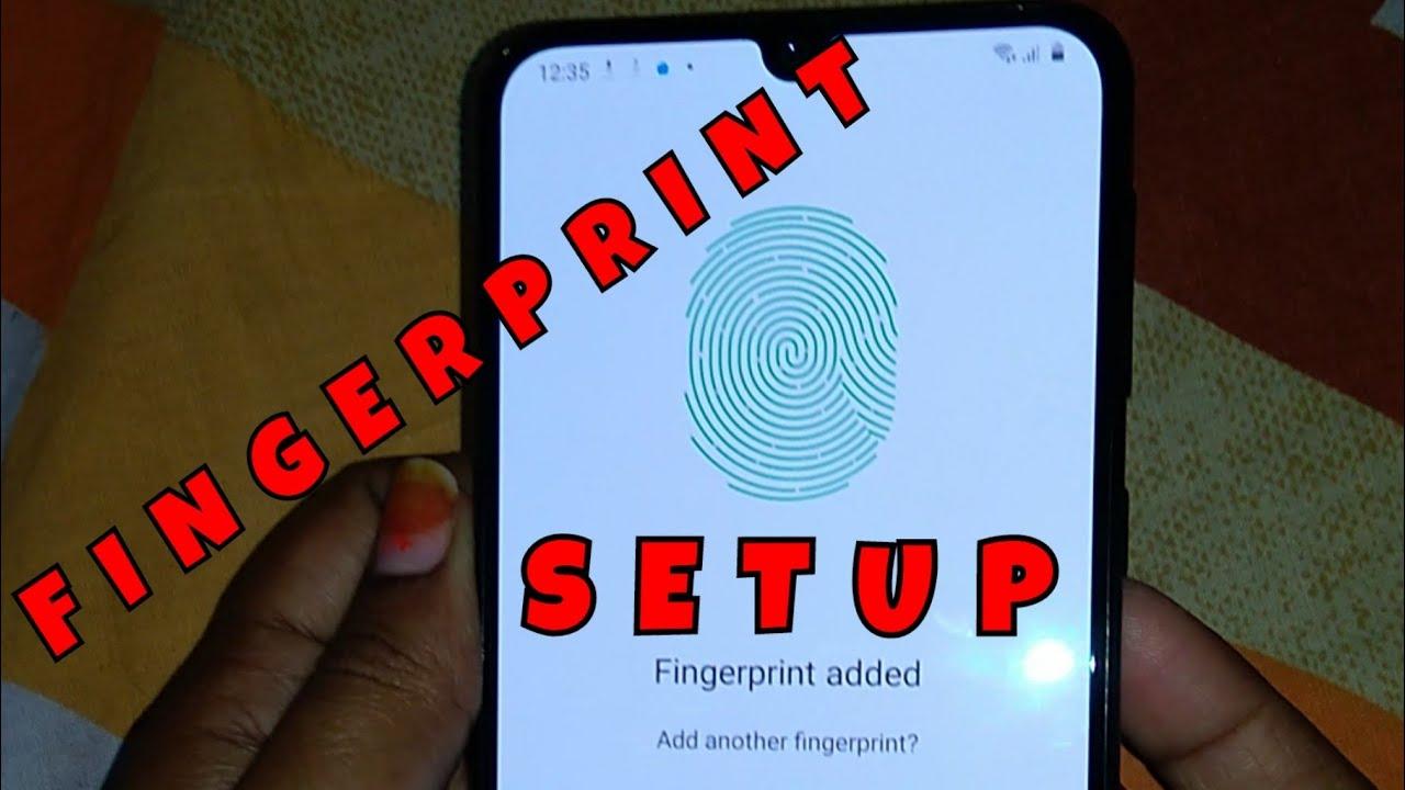 How to Setup Fingerprint for Samsung Galaxy M31 | How to Add Fingerprint for Samsung M31
