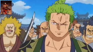 زورو يرفض إنقاد الفتاة الساموراي و يجبرها على القتال 😈 فخامة رورونوا زورو⚔️🗡️One piece