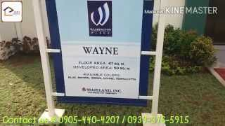 Wayne House Model at Washington Place Dasma Cavite