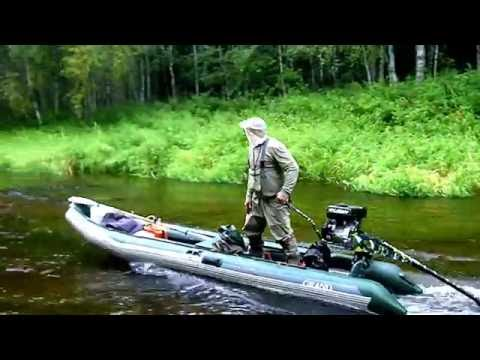 Река Пышега болотоход