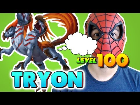 Monster Legends: Tryon level 1 to 100 - PVP Combat