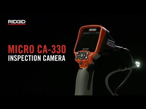 RIDGID micro CA-330 Inspection Camera