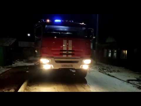 На пожаре в Чистополе погибли два человека, одного пострадавшего спасли пожарные