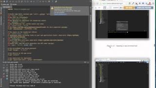 Ruby on Rails Tutorial 3rd edition(英語版)のコーディング風景を録...