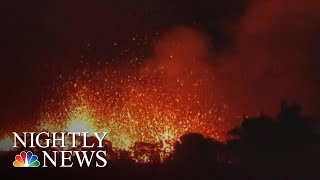 Fissures From Hawaii Volcano Pose New Threat | NBC Nightly News