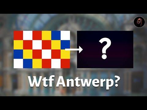 Antwerp Needs To Change Its Flag...
