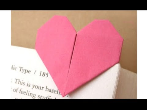 origami doublesided heart easy mothers day full