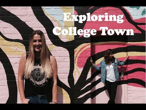 Exploring College Town & Yoga Class | L&P Vlogs