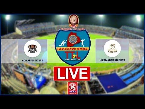 Adilabad Tigers  Vs  Nizambad Knights LIVE | G Venkataswamy Memorial Telangana T-20 League