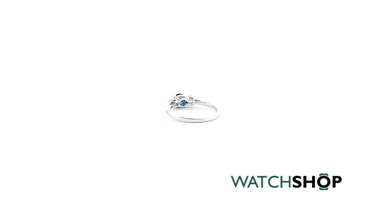 bebfacaa5 Swarovski Attract Trilogy Ring Size N (5416152) - YouTube