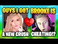 Brooke Reveals Her NEW CRUSH On SOMEONE ELSE Than Symfuhny | Fortnite Daily Funny Moments Ep.406