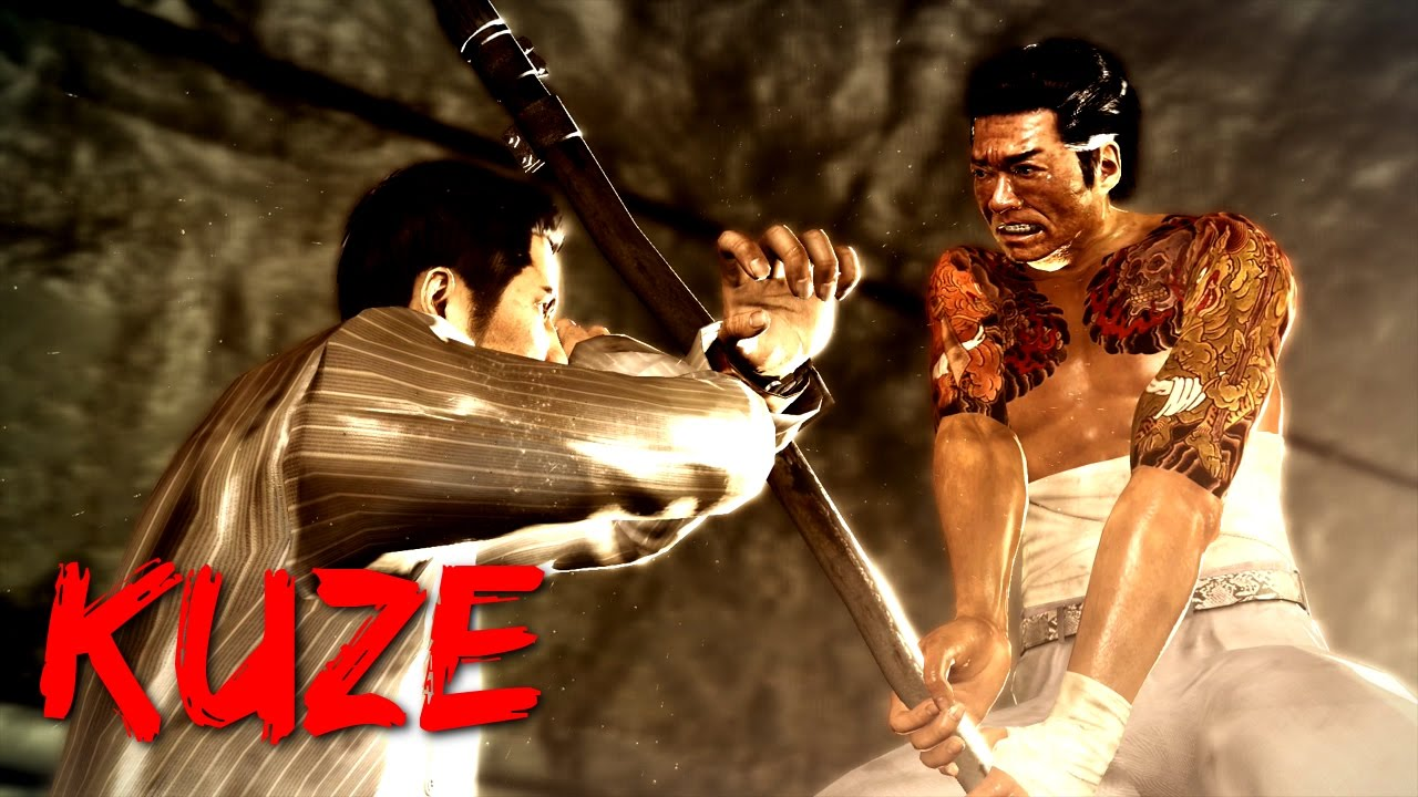 Yakuza 0 - Boss Battles: 4 - Daisaku Kuze (LEGEND) - YouTube