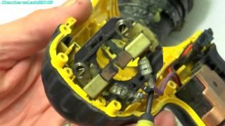 DL 128 DeWalt DC725 Battery Drill With Arcing Commutator Repair