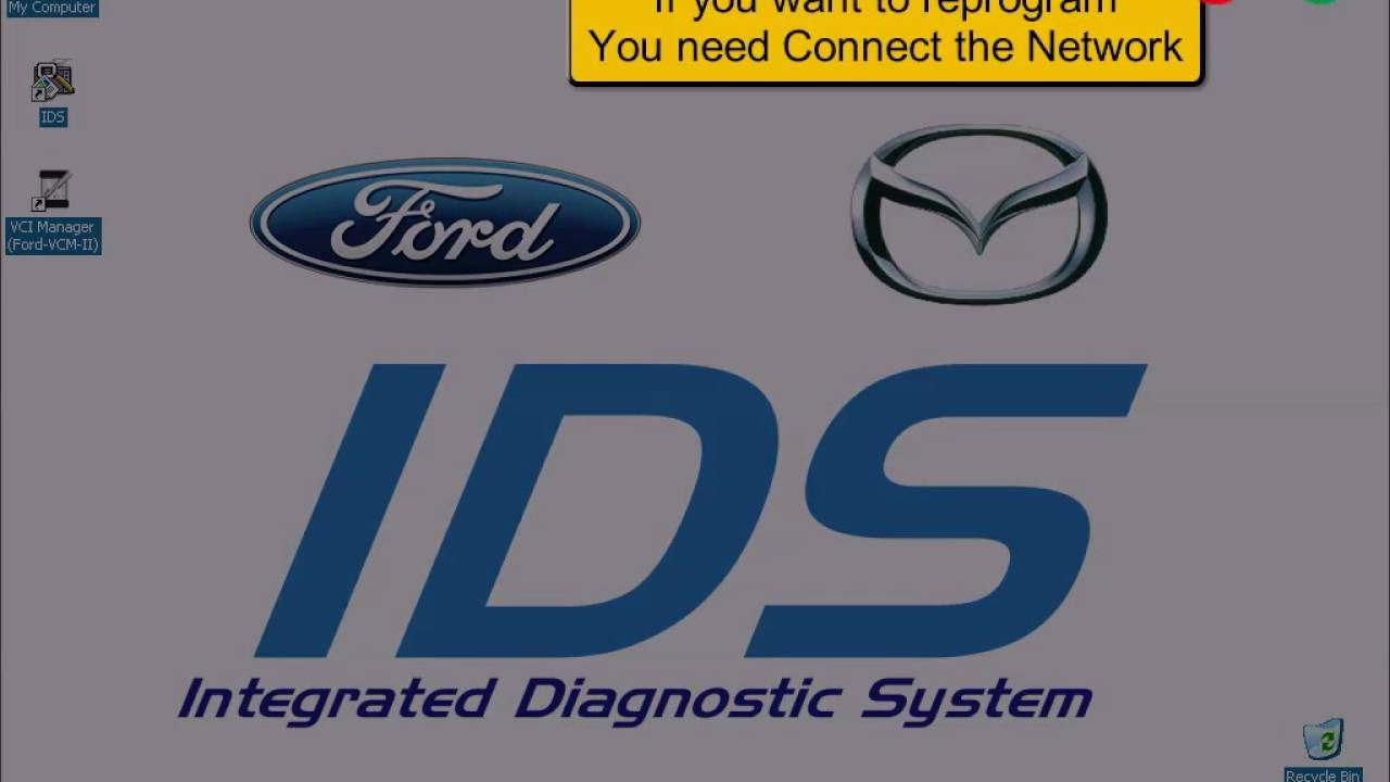 How to install VXDIAG Ford IDS V100 01 on WMware obdii365