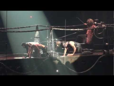 Rammstein - London 2012 - Entry Onto Small Stage