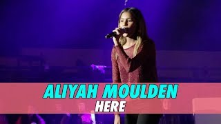Aliyah Moulden - Here (Live Cover)