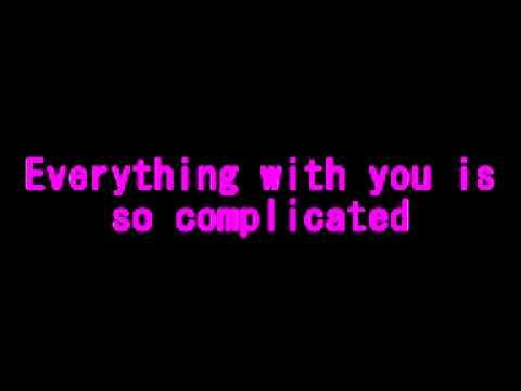 Rihanna Complicated With Lyrics