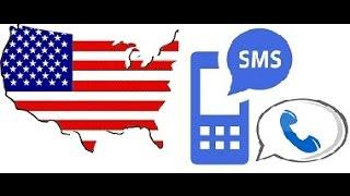 Google Voice + Американский виртуальный номер (звонки, смс)