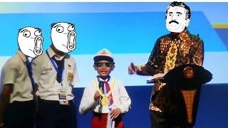 Video LUCU dan Kocak, Bocah SD salah ngomong ikan tongkol pada Presiden Jokowi. THUG LIFE download MP3, 3GP, MP4, WEBM, AVI, FLV Agustus 2018