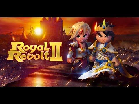 Royal Revolt 2 обзор игры! Тактика, прохождение, секреты боя.