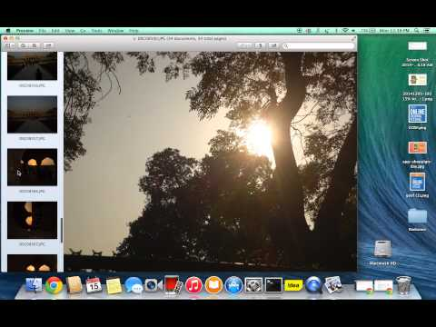 How to select multiple photos at once on macbook