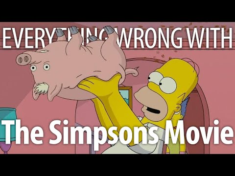 Everything Wrong With The Simpsons Movie In 15 Minutes Or Less