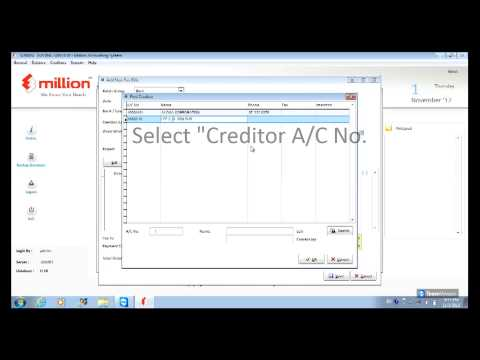 How To Maintain Creditor Pay Bills