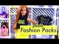 Unbox Daily: ALL NEW Barbie Fashion Packs PLUS DIY Store Front