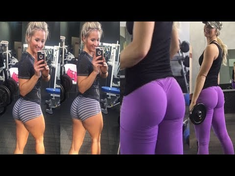 Katie Bumba – Sexy Fitness Model / Butt Toning Exercises