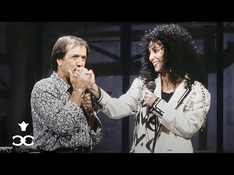 Sonny & Cher reunite for the last time to sing 'I Got You Babe' on Letterman (1987) ᴴᴰ
