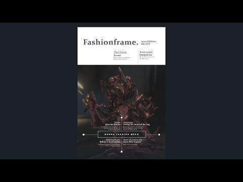 Warframe: Off The Runway - Khora Fashionframe