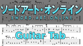 Learn How to Play Swordland Fingerstyle Acoustic Guitar Lesson TABS(Sword Art Online.Ost)