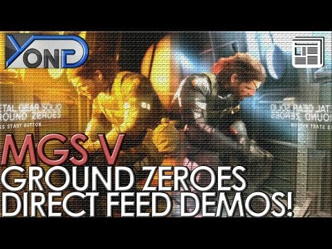 Metal Gear Solid V - Direct Feed Ground Zeroes Night/Day Demos! (No Commentary, 1080p)