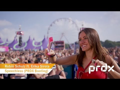 Robin Schulz Ft. Erika Sirola - Speechless (PRDX Hardstyle Bootleg)