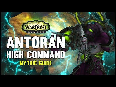 Antoran High Command Mythic Guide - FATBOSS