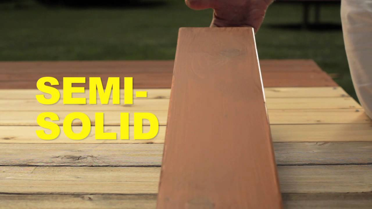 How To Choose The Right Exterior Wood Stain | Cabot   YouTube