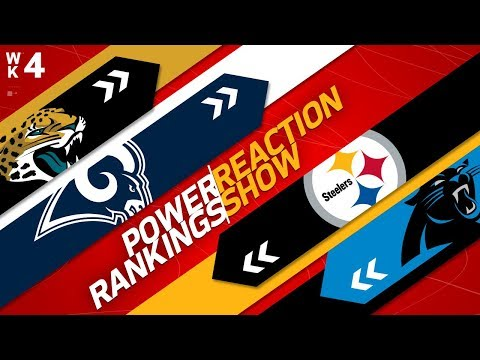 Power Rankings Week 4 Reaction Show: Are the Redskins Changing the NFC Balance of Power? | NFLN
