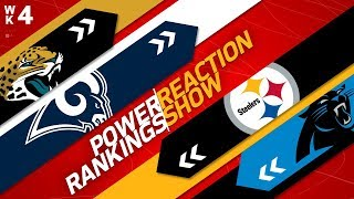 Power Rankings Week 4 Full Show: Are the Redskins Changing the NFC Balance of Power? | NFL Network