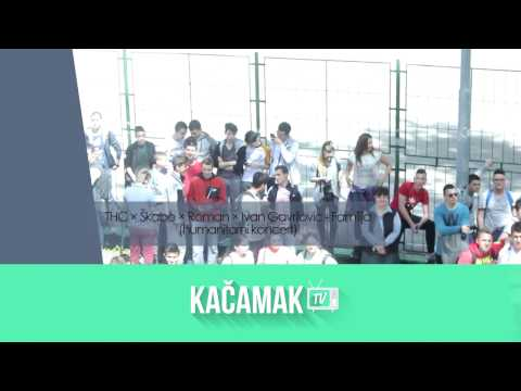 THC × Škabo × Roman × Ivan Gavrilovic - Familija (humanitarni koncert 26.4.2017)