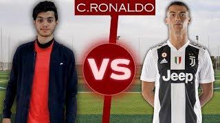 بشار عربي يتحدى كريستيانو رونالدو فالمهارات!! #2 | Challenge Vs Cristiano