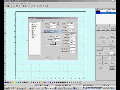 LaserCut 5 3 Software Tutorial Part8 (English)