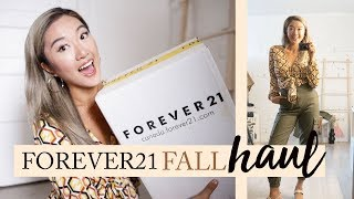 FOREVER 21 FALL HAUL: What I Got For $300 (8 Items)