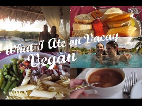What I Ate On Vacation (Vegan) + Vlog!