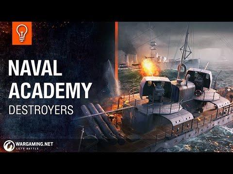 Naval Academy - Destroyers