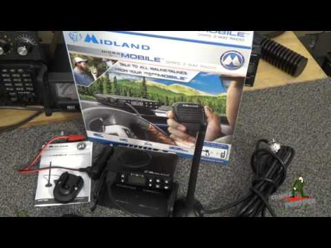 Midland MXT100 GMRS Micro Mobile Radio