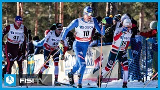 Francesco De Fabiani 3° nella Mass Start a Falun
