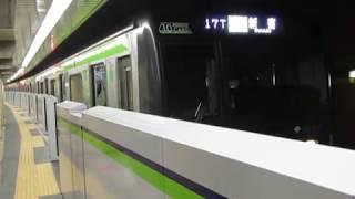 都営10-300形10-510F浜町駅発車※発車メロディーあり