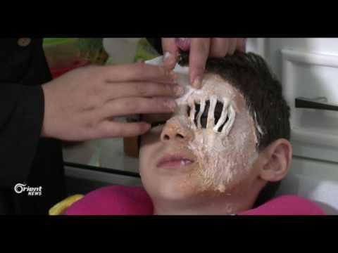 طالبة فلسطينية تتقن المكياج السينمائي عبر الانترنت  - 13:20-2017 / 4 / 29