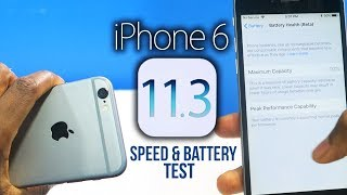 iOS 11.3 on iPhone 6: NEW Features, Speed & Battery Test!